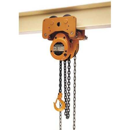 Harrington Hoist/Trolley 1000lb 10ftLift Type G-NTH005-10