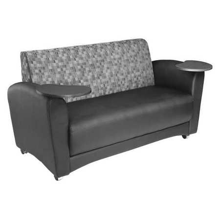 Contemporary Design Sofa,  Polyurethane Black