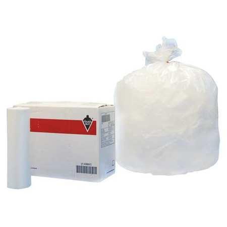 Trash Bags,55 Gal.,12 Micron,pk200