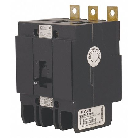 3P Standard Bolt On Circuit Breaker 35A 480VAC by USA Eaton Circuit Breakers