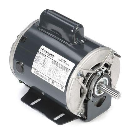 Motor 3/4 HP 1725 RPM 115/208 230V Auto by USA Marathon General Purpose Capacitor Start AC Motors