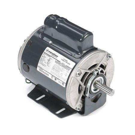 Motor 3/4 HP 1725 RPM 115/208 230V Auto Model 5KC46JN0002X by USA Marathon General Purpose Capacitor Start AC Motors
