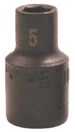 "SK Impact Socket 1/4"" Drive 6mm Size Type 31046"