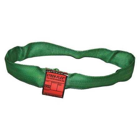 Stren-Flex Round Sling Endless Green 10 ft. L