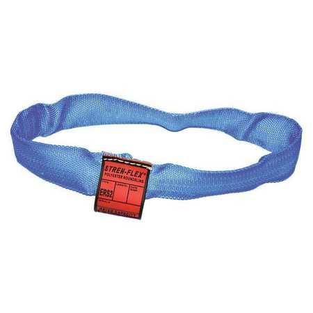 Stren-Flex Round Sling Endless Blue 4 ft. L
