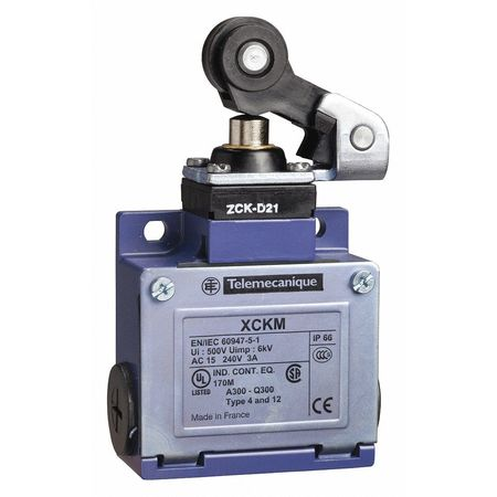 Limit Switch 240Vac 10Amp Xck Options Model XCKM121H29 by USA Telemecanique Electrical Limit Switches