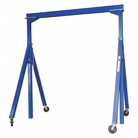 Vestil Steel Gantry Crane Adjustable 2K 15 x 9