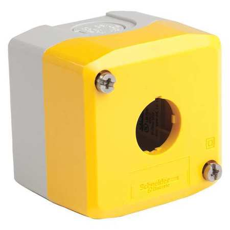 Push Button Enclosure 600Vac 10A Xalk Sp by USA Schneider Electrical Pushbutton Enclosures & Accessories