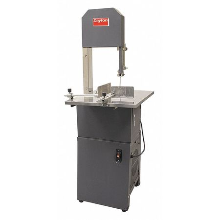 Vertical Band Saw,10A,3/4 HP,120V -  DAYTON, 48WE55