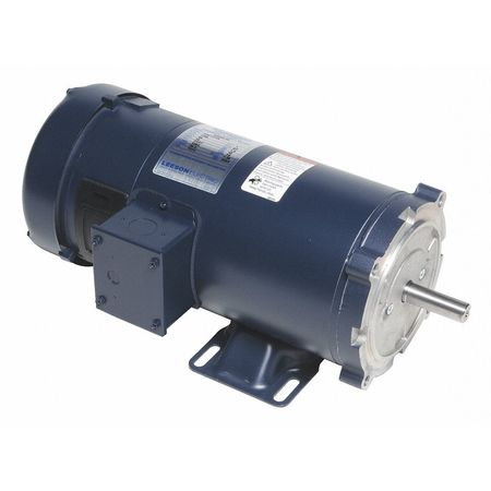 DC Permanent Magnet Motor 7.6A 180VDC by USA Leeson DC Permanent Magnet Motors