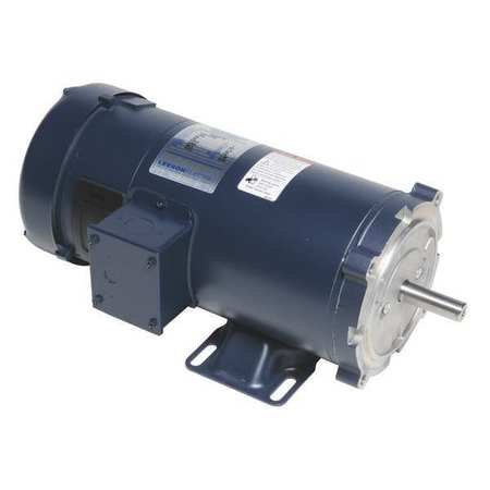 DC Permanent Magnet Motor 1 1/2HP 180VDC by USA Leeson DC Permanent Magnet Motors