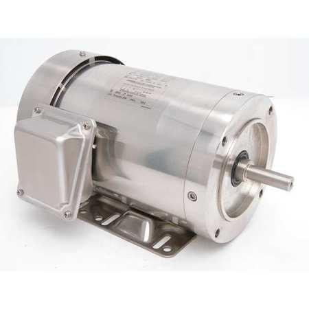 Washdown Motor 1 HP 1140 RPM Model 191417 by USA Leeson DC Washdown Motors