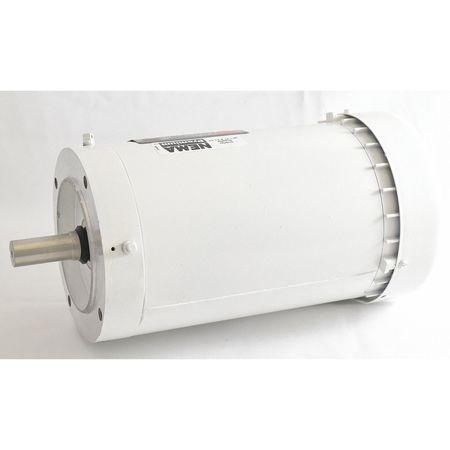 Washdown Motor TEFC 2 HP 1740 rpm 145TC by USA Dayton DC Washdown Motors