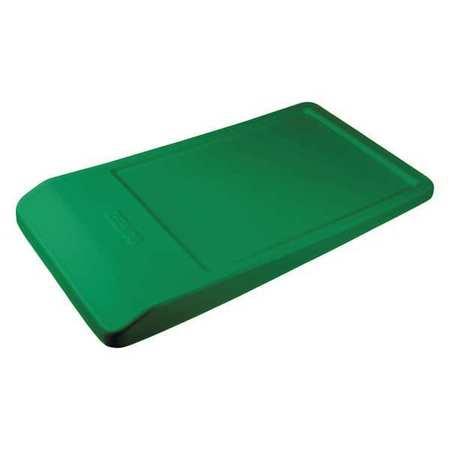 Hopper Lid,Green,55-1/2 in. L x 31 in. W -  REMCO, 69022