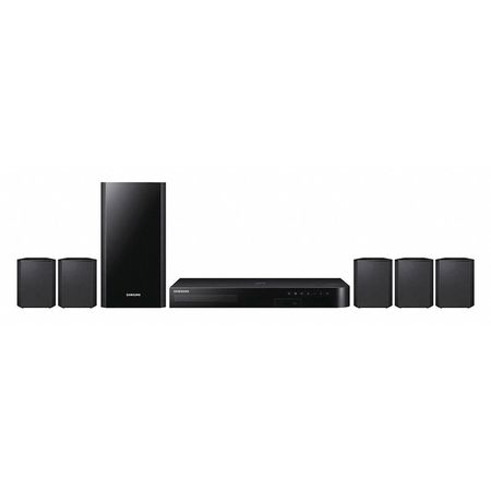 Home Theater System 2 13/64 in. H Black by USA Samsung Audio Speakers