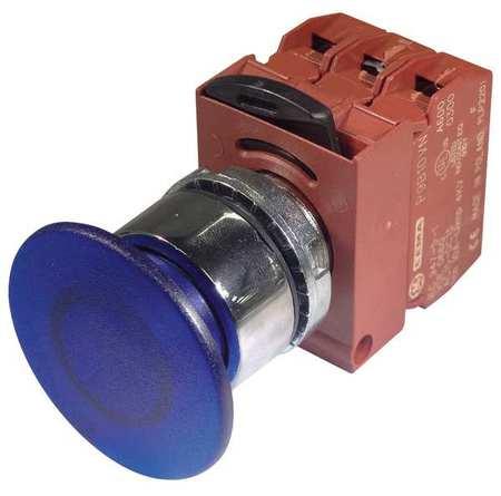 Illum Push Button Operator 22mm Blue Model P9CEM4LIN12NALI by USA GE Electrical Illuminated Pushbuttons