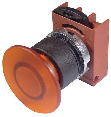 Illum Push Button Operator 22mm Orange Model P9XEM4AL by USA GE Electrical Illuminated Pushbuttons