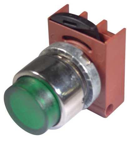 Illum Push Button Operator 22mm Green by USA GE Electrical Illuminated Pushbuttons