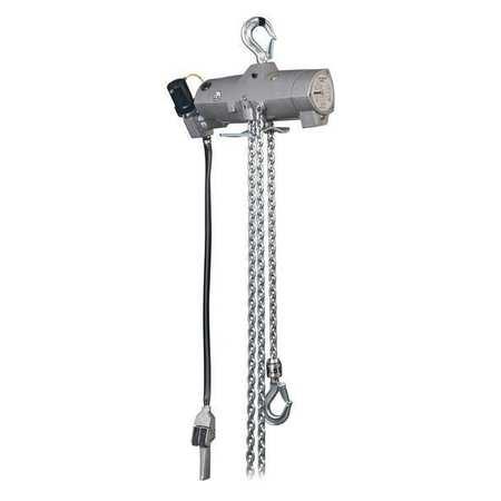Harrington Air Chain Hoist Pendant 1000 lb. 10 ft. Type AW005P-10