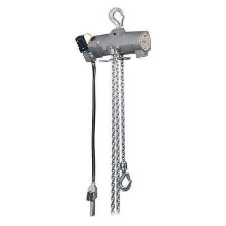 Harrington Air Chain Hoist Pull Cord 2000 lb. 10ft.