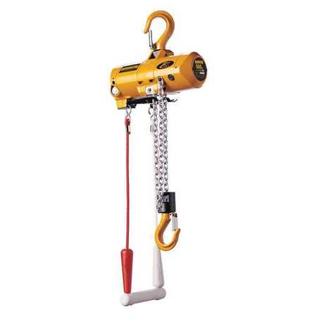 Harrington Air Chain Hoist Pendant 500 lb. 15 ft.