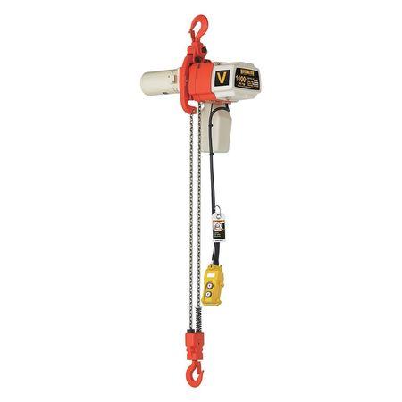 Harrington Electric Chain Hoist 1000 lb 10 ft. Lift