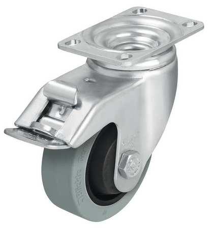 Value Brand Swivel Plate Caster Rubber 3-1/2 in. 350 lb. C