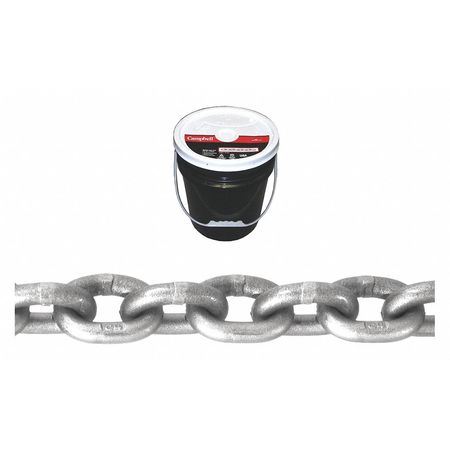 Campbell 1/4In Grade 43 Chain 150Ft Round Pail