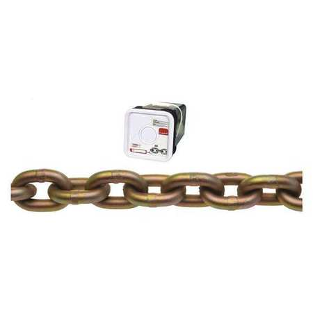 Campbell Chain 65ft 1/4in Transport Gold Chromate