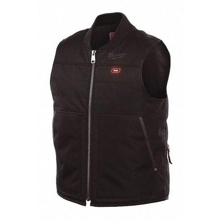 M12 Mens Vest Kit, L, Black, 44 Chest Size