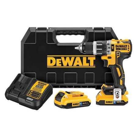 DeWalt DCD796D2BT 20V MAX XR Li-Ion 2.0Ah Bluetooth 0.5 Compact Hammer drill Kit
