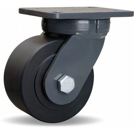 Value Brand Plate Caster Kingpinless Swivel Nylon 6 in 5400 lb
