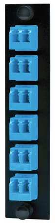 FSP Adapter Panel LC Duplex Blue by USA Hubbell Premise Electrical Cabinet Accessories