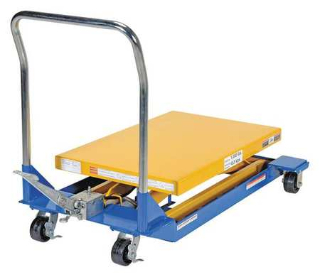 Vestil Foot Pump Scissor Cart 1K 36 x 24