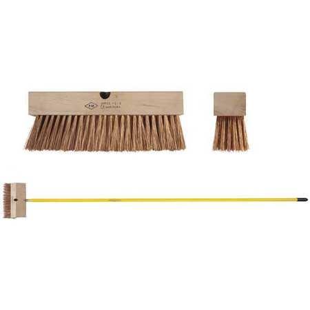 "Push Broom Head,Phosphor Bronze,2-1/2"""" W -  AMPCO, PB-10"