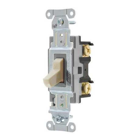 Wall Switch 20A Ivory 1 HP 1 Pole Switch by USA Hubbell Kellems Electrical Wall Switches