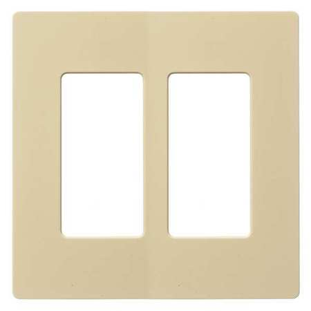 Rocker Wall Plate Ivory 2 Gangs Smooth by USA Bryant Electrical Wall Plates