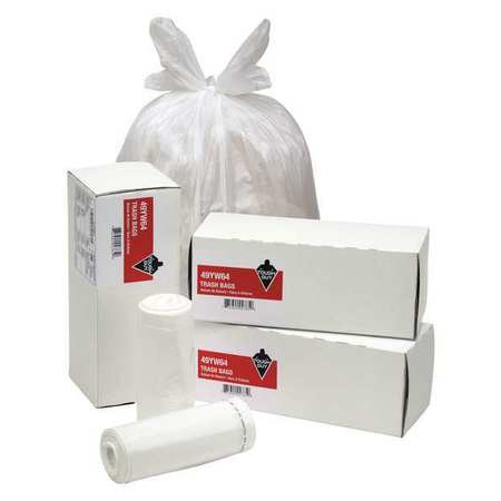 Trash Bags,8 Gal.,0.69 Mil,pk26
