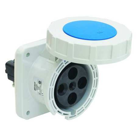 Pin and Sleeve Receptacle 10 HP 240VAC by USA Bryant Electrical Pin & Sleeve Receptacles
