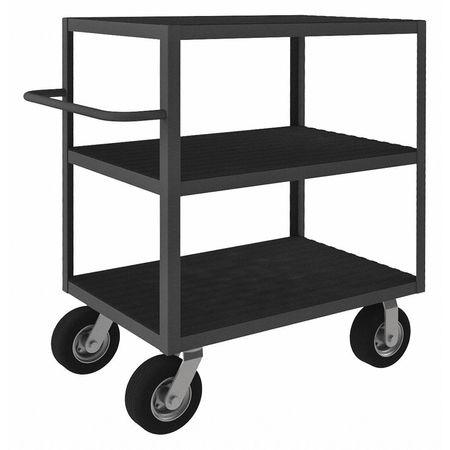 Value Brand Three-Shelf Instrument Cart 1200 lb. Type RIC-243645-3-95