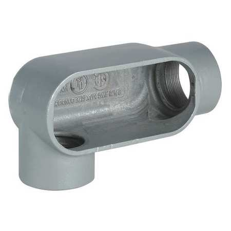 Conduit Body 131 cu. in Capacity LR Body by USA Hubbell Killark Electrical Conduit Bodies & Covers
