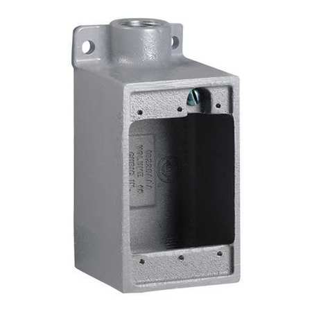 """Device Box 1"""" Hub 47.0 cu. in Capacity by USA Hubbell Killark Electrical Weatherproof Boxes"""