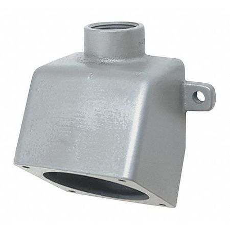 """Back Box 60A 1 1/4"""" Hub 5 1/2""""W Dead End by USA Hubbell Killark Electrical Pin & Sleeve Receptacles"""
