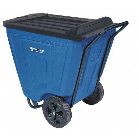 Value Brand Cube Truck 7/16 cu. yd. 350 lb. Cap Blue