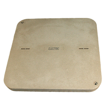 "Undrground Enclosure Cover 38""L 3 in D by USA Quazite Electrical Underground Enclosures"