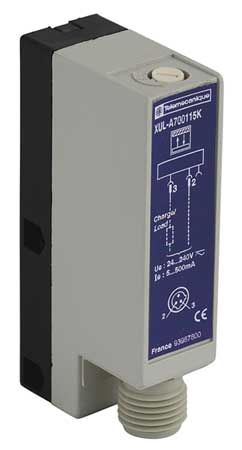 Photoelectric Sensor Rectangular Diffuse Model XULA700115K by USA Telemecanique Photoelectric Sensors