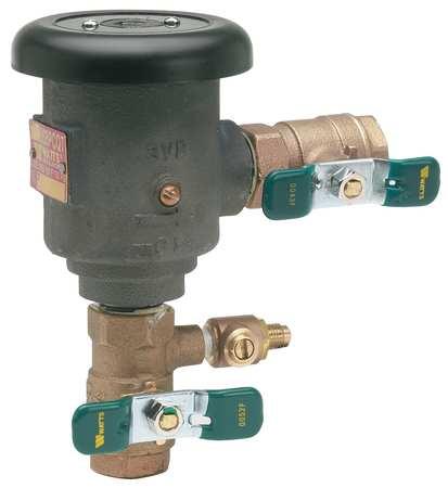 Anti-Siphon Backflow Preventer,Watts 008 -  1/2 LF 008PCQT-1/2