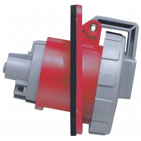 IEC Pin and Sleeve Receptacle 20A 480V Model 420R7 W by USA Leviton Electrical Pin & Sleeve Receptacles