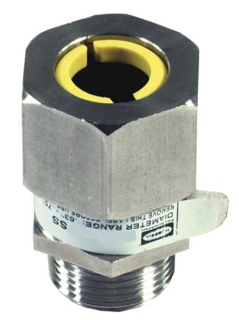 Liquid Tight Connector 3/8 in. White by USA Hubbell Kellems Electrical Strain Relief Connectors