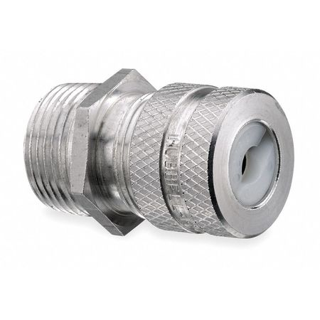 Liquid Tight Connector 1 in. Brown Model SHC1040 by USA Hubbell Kellems Electrical Strain Relief Connectors